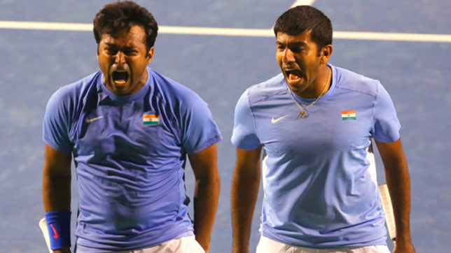 Davis Cup: Veteran Leander Paes and doubles partner Rohan Bopanna dropped from squad