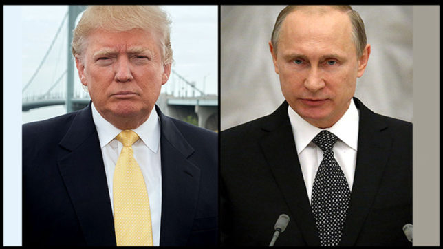 Vladimir Putin ready to meet Donald Trump at Arctic summit in Finland