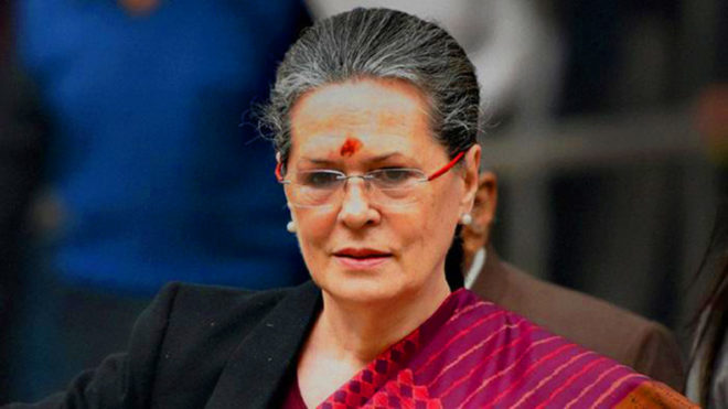 Sonia Gandhi writes personal letter to people of Rae Bareli, Amethi