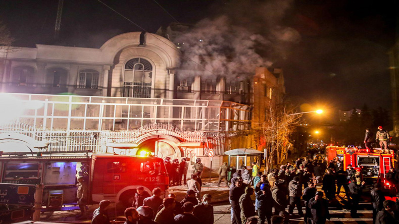 Iranian court rejects appeal of Saudi embassy attackers