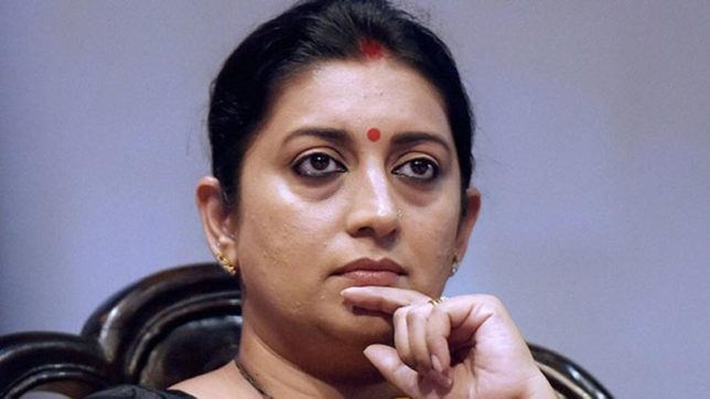 Rahul Gandhi chose to attack PM Modi when whole nation stands united against terrorism, says Smriti Irani