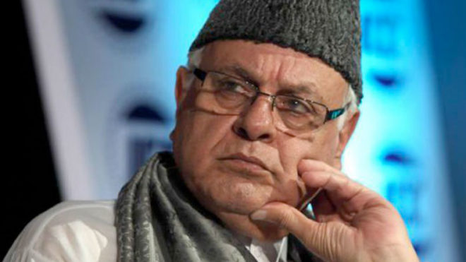 India faces threat from inside, not outside: Farooq Abdullah