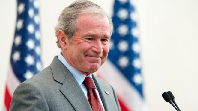 Former US President George W. Bush