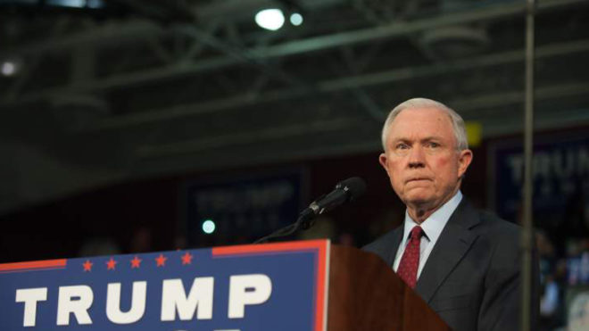 US Attorney General Jeff Sessions recuses himself from President Trump's campaign probe