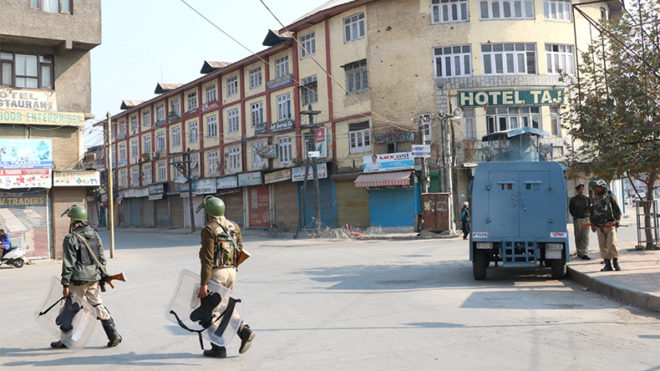 Restrictions imposed in Srinagar ahead of separatist rally