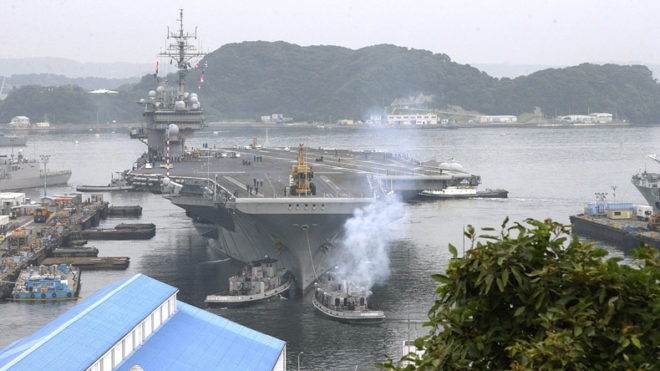 navy US base in Japan