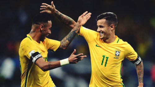 Brazil can get better, says Liverpool midfielder Philippe Coutinho