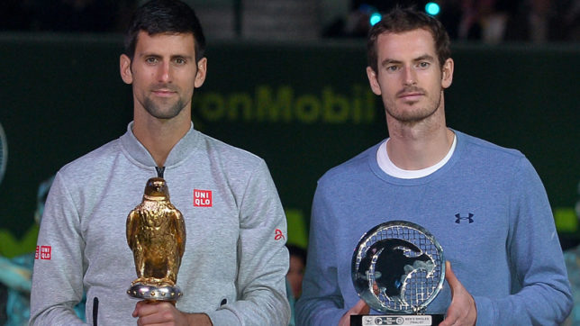Elbow injuries rule out Novak Djokovic, Andy Murray from Miami Open