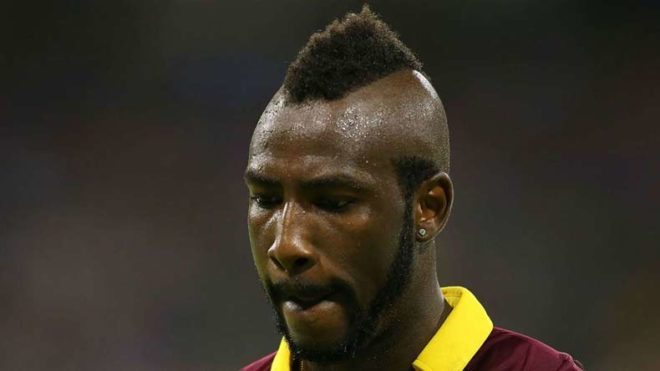 Andre Russell banned for a year