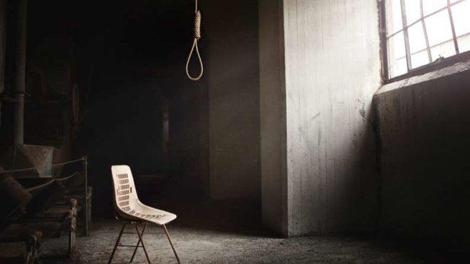 Suicide-by-hanging
