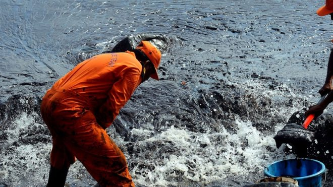 Chennai oil spill causes 'irreparable' damage to environment, DMK blames government