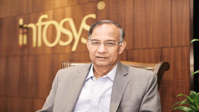 Severance package to ex-CFO was 'error of judgement': Infosys Chairman R Seshasayee