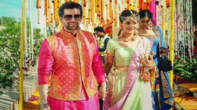 Lavish pre-wedding celebrations for Neil Nitin Mukesh as he gets set to say his vows