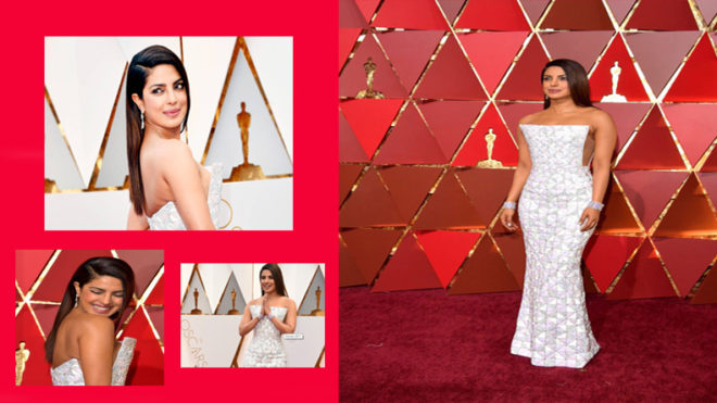 89th Academy Awards: Priyanka Chopra slays the red carpet in a stunning white gown