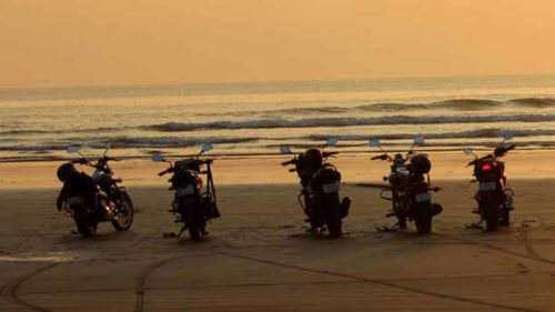 Goa-bike-ride