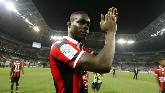 Mario Balotelli restrained, Nice drop points again in Ligue 1 title race