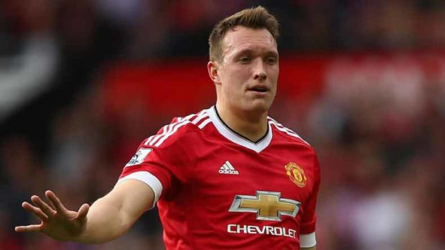 Manchester United's Phil Jones banned for 2 matches for abusing UEFA official