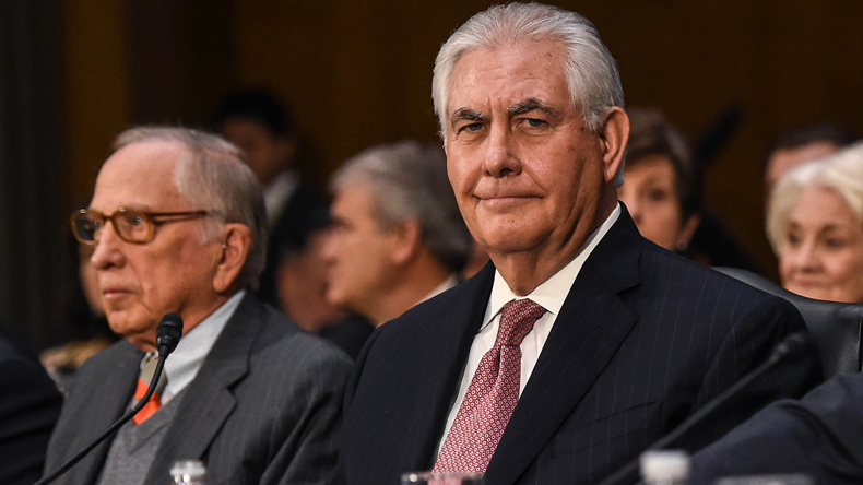 Exhausted Rex Tillerson threatens a preemptive strike on North Korea