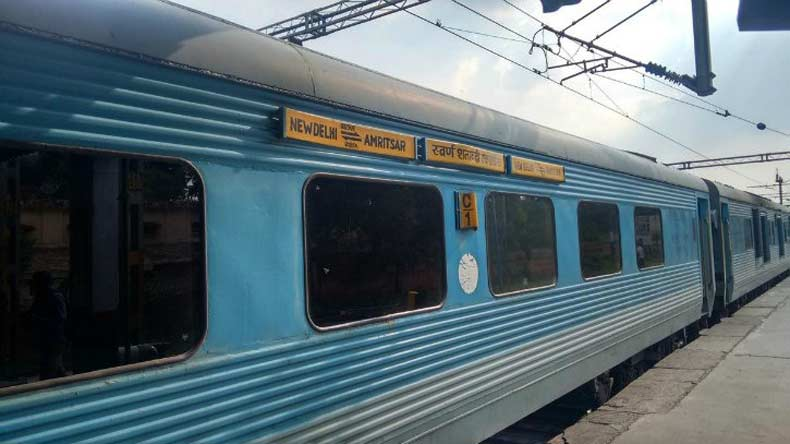 This Ludhiana man gets Swarn Shatabdi as compensation from railways