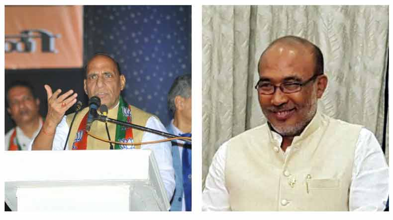 Union-Home-Minister-Rajnath-Singh-congratulates-Biren-Singh-for-winning-trust-vote