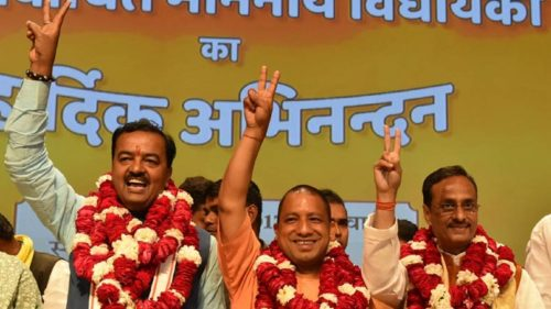 UP's Deputy Chief Ministers Keshav Maurya and Dinesh Sharma: Perfect foil to each other