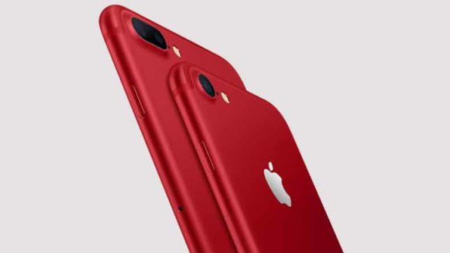 Apple announces new RED iPhone 7 and iPhone 7 Plus along with iPad