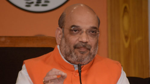 BJP's civic poll win a vote in favour of PM Modi: Amit Shah