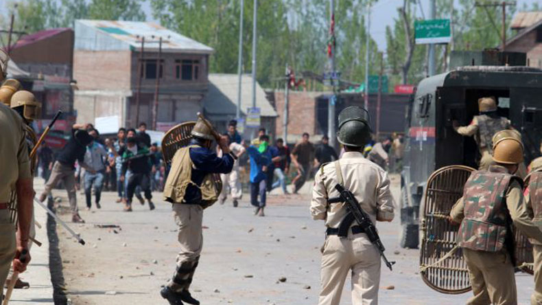 Three people killed, several injured during protests in India's Kashmir
