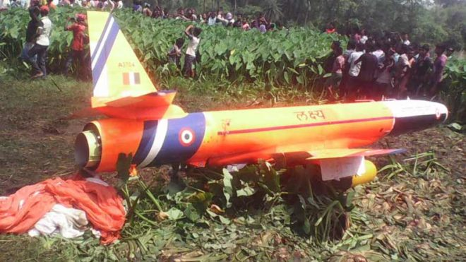 Lakshya-UAV-crash-lands-in-Odisha