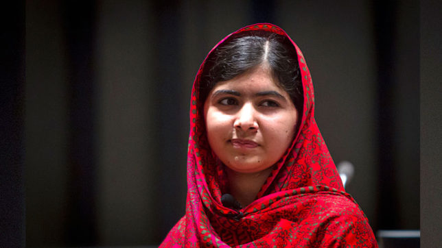 Use social media as political weapon: Malala Yousafzai