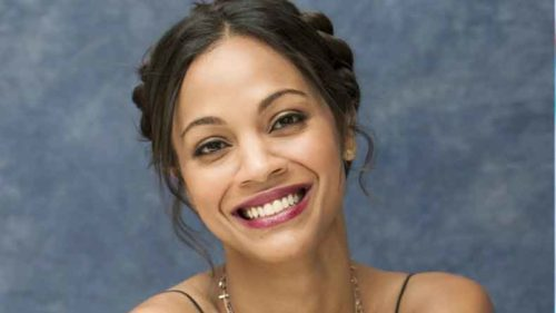 I get insecure in front of the camera: Zoe Saldana