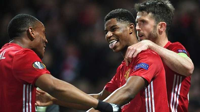 Manchester United beats Anderlecht 2-1; enters Europa League quarter-final
