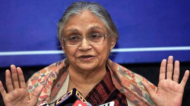 Sheila disappointed with Delhi Congress chief's style of working