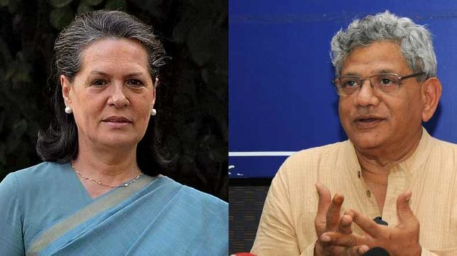 Yechury meets Sonia, discusses presidential election
