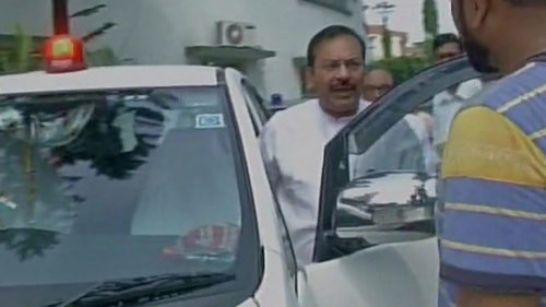Bengal PWD minister Arup Biswas refuses to remove red beacon from his car