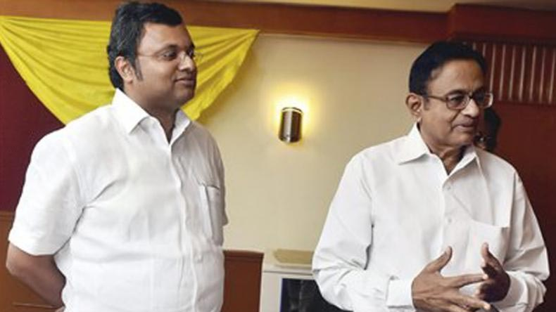 ED files PMLA case against Karti Chidambaram, INX Media