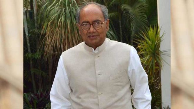 Ballot paper should be used during 2019 elections: Digvijaya Singh