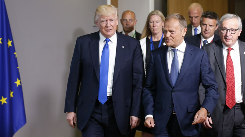 EU says Trump agrees that Brexit