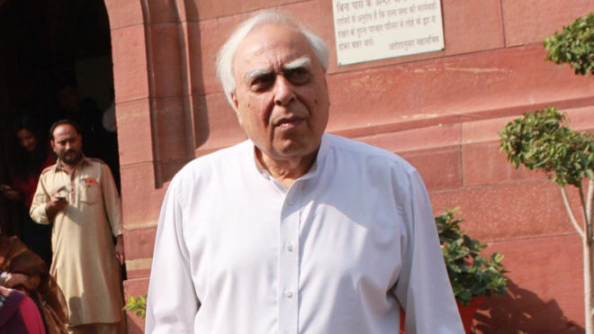 For a full-time strategy the nation needs a full-time Defence Minister: Kapil Sibal