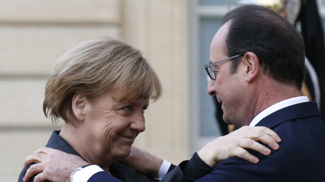 French President Hollande to meet Merkel after French election
