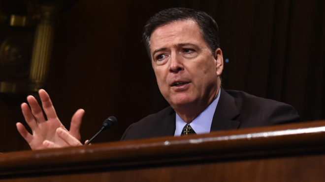 James Comey invited to testify before Senate panel on Tuesday
