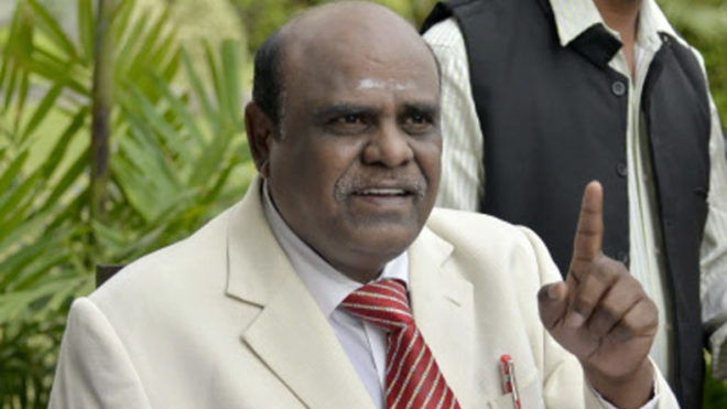In a first, Supreme Court sentences Justice Karnan to six months imprisonment