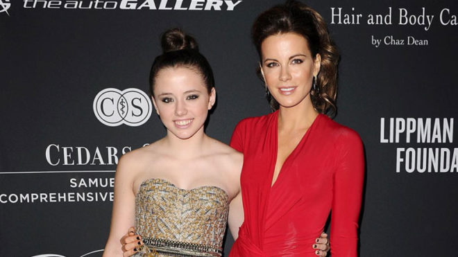 Kate Beckinsale pays tribute to daughter