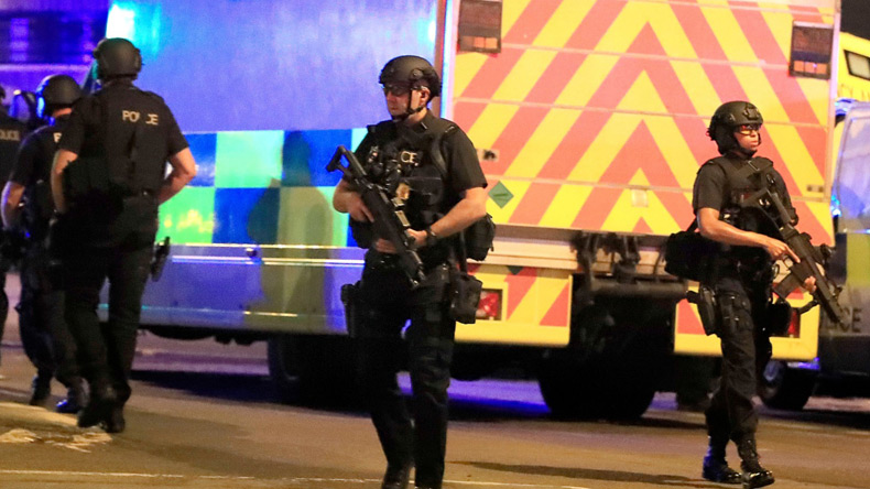 British police find suspicious items in investigation into Manchester attack