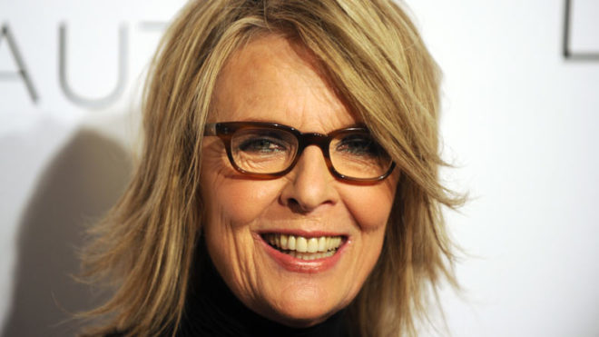 Actress Diane Keaton arrives at the 17th