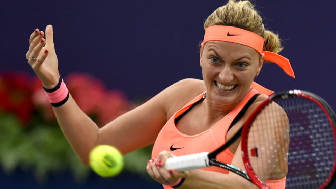 Petra Kvitova advances to second round, defeats Julia Boserups in straight sets of French Open