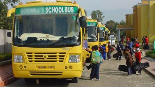No accident, bus with 40 children returns safely to Poonch