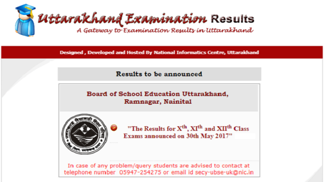 Uttarakhand UK Board Result 2017: Class 10, 12 Results declared @ on uaresults.nic.in