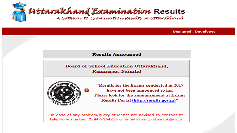 Uttarakhand Board to Declare Class 12th Results 2017 Tomorrow - UBSE
