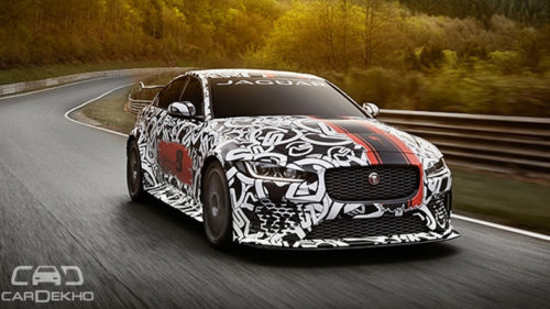 Meet the most powerful road legal Jaguar ever: XE SV Project 8